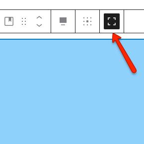 WordPress: przełącz pełną wysokość