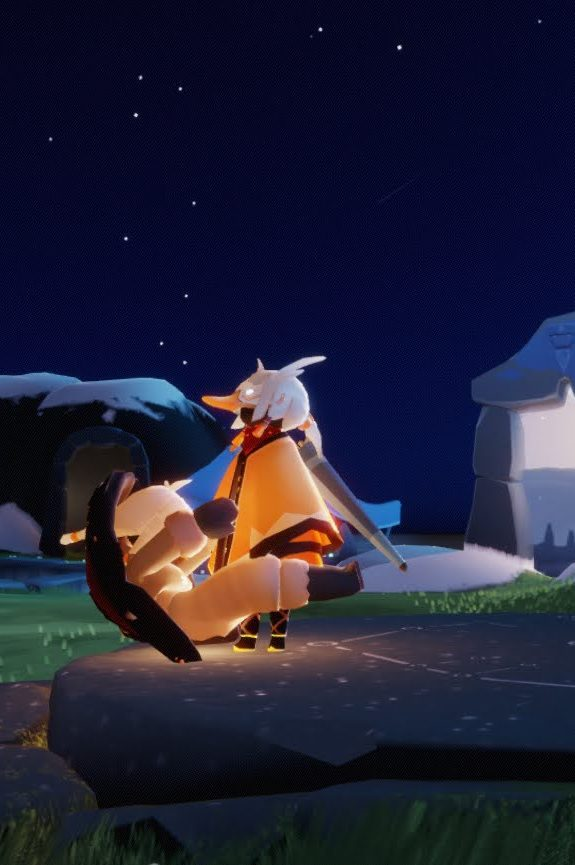 Sky nocna przygoda